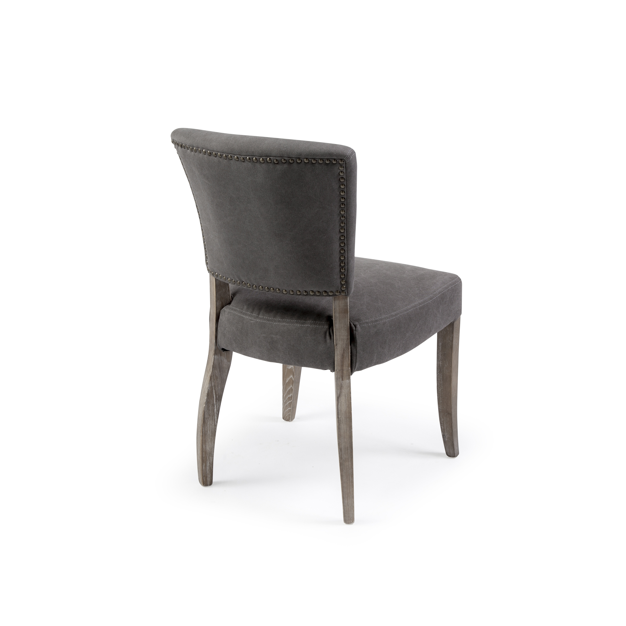 Wilmslow Charcoal Linen Dining Chairs (Set of 2)